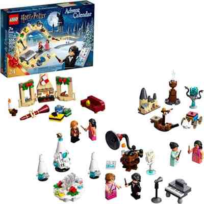 Amazon: 335 Pieces LEGO Harry Potter Advent Calendar Collectible Toys for $29.97 (Reg. $39.99)