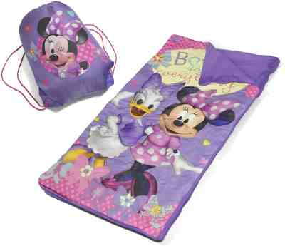 Amazon: Disney Minnie Mouse Slumber Bag Set for $12.88 (Reg. $19.99)