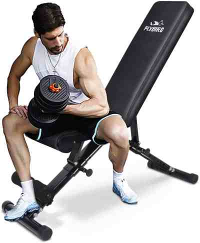 Amazon: Adjustable Strength Training Bench for Full Body Workout only $130.24 (Reg. $140.24)