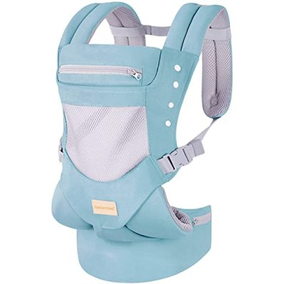 Amazon: Baby Carrier Wrap Backpack Front and Back for $19.99 (Reg. Price $39.99)