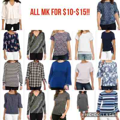 Belk: Michael Kors Women Clothes Start at $10