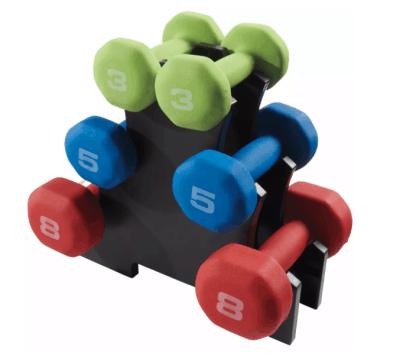 Dick's: Fitness Gear 32 lb. Neoprene Dumbbell Kit ONLY $49.99 (Reg $60) + FREE Shipping