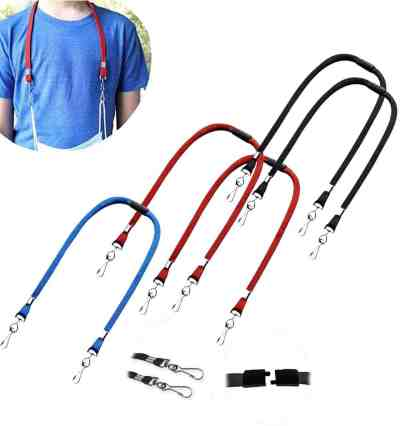 Amazon: Elasticity Face Mask Lanyards with Safety Breakaway Clasp Eyeglass, Just $6.49 (Reg $12.99) after code!