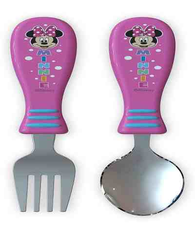 Zulily: Minnie Mouse Easy Grip Two-Piece Flatware Set Now $6.99