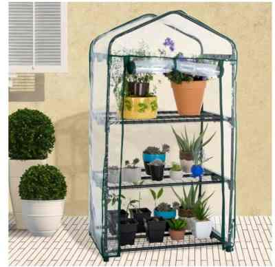 Amazon: 3 Tier Outdoor Gardening Hot House for $32.95 Shipped!
