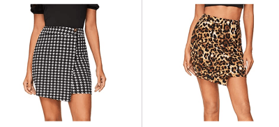 Amazon: Hem Bodycon Mini Skirt For $5.99
