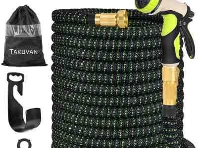 Amazon: 100ft Expandable Garden Hose, Durable Flexible $22.49 ($50)