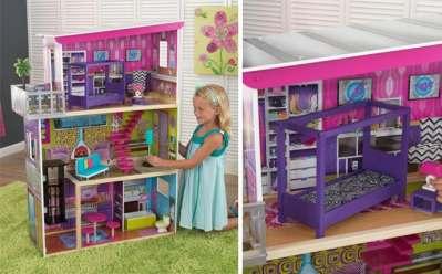 Walmart: KidKraft Super Model Dollhouse ONLY $84 + FREE Shipping (Reg $140)