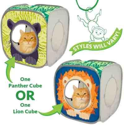 Amazon: Kitty City Jungle Cat Cube Combo, Collapsible Cat Cube, Just $4.97 (Reg. $8.39)