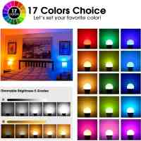 Amazon : LED RGB Light Bulbs Just AS LOW AS $2.80  W/Code (Reg : $42.98)