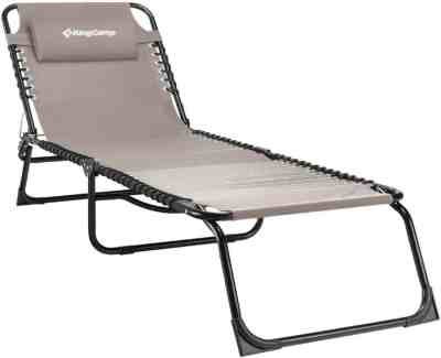 Amazon: KingCamp Chaise Lounge For $43.19 W/Code