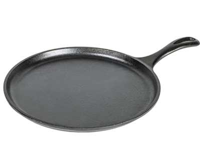 Amazon: Lodge Pre-Seasoned Cast Iron Griddle With Easy-Grip Handle for Just $14.88 (Reg. $33.18)