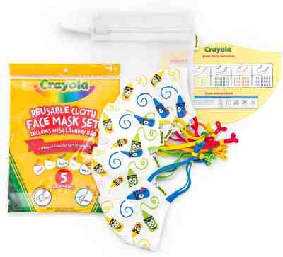 Amazon: Save up to 43% off on Crayola Kids Face Masks