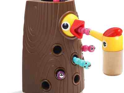 Amazon: TOP BRIGHT Fine Motor Skills, Magnetic Toddler Toy Games $9.99 ($20)