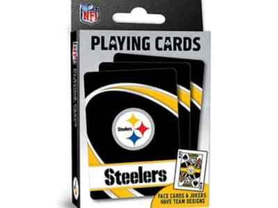 Amazon: MasterPieces NFL Pittsburgh Steelers Playing Cards for $1.49 (Reg. Price $5.99)