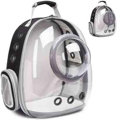 Amazon: Space Capsule Bubble Pet Carrier for $30.19