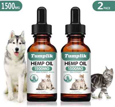 Amazon: Hemp Oil for Dogs and Cats Just $10.40