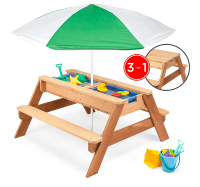 BCP: Convertible Kids' Picnic Table Set ONLY $99 + FREE Shipping (Reg $199)