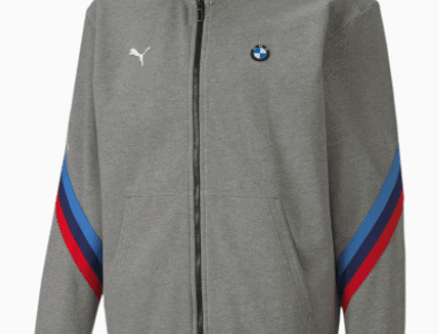 Puma:BMW M Motorsport Life Mens Sweat Jacket for $49.99 + Free Shipping! (Reg.$110.00)