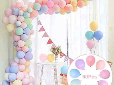 Amazon: Party Pastel Rainbow Balloons Assorted for $5.97 (Reg. Price $11.95) after code!