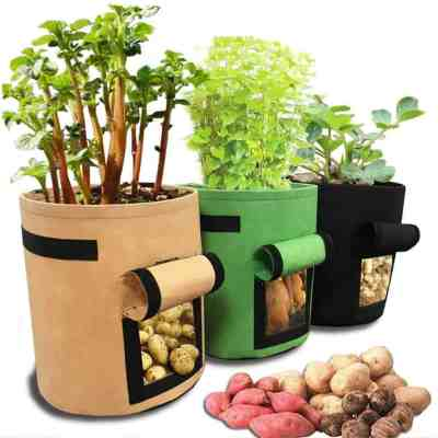 Amazon: Potato Grow Bag 10 Gallon, 3 Pack for $10.49 (Reg. Price $20.99) after code!