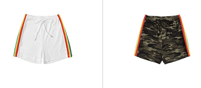 Amazon: Verdusa Women's Striped Shorts Just $5.95