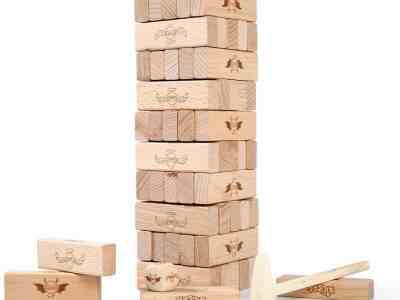 Amazon: Timber Tower Wood Block Stacking Game, Just $8.49 (Reg $16.99)