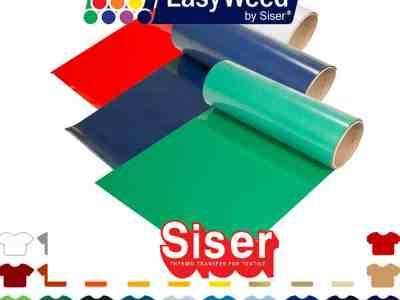 eBay: Siser Easyweed Heat Transfer Vinyl HTV – Pick 5 Colors for $39.95