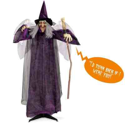 BCP: Wicked Wanda Standing Animatronic Witch ONLY $49.99 (Reg $100)
