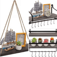 Amazon : Wood Floating Shelves Just $9.99-$10.39 W/Code (Reg : $25.98)