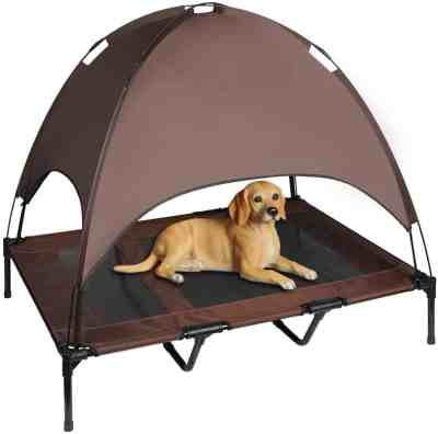 Amazon: XLarge Elevated Dog Cot with Canopy, Just $34.99 (Reg $69.99) after code!