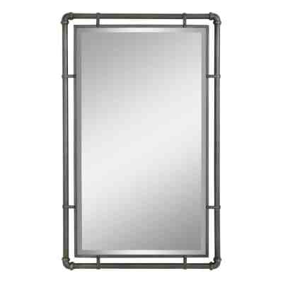 Home Depot: Morse Industrial Metal Wall Mirror ONLY $66.99 (Reg $190)