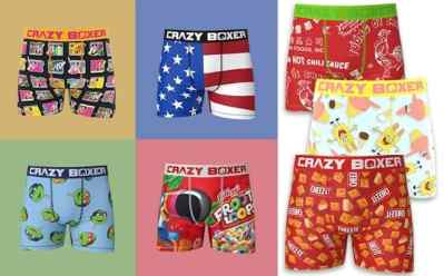 Zulily: Crazy Boxer Briefs ONLY $8.99 (Regularly $16) – Many Fun Graphic Designs!