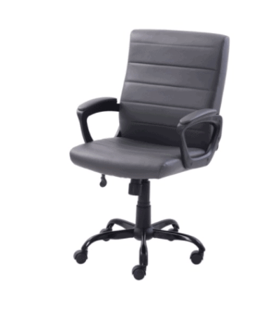 Walmart: Mainstays Bonded Leather Mid-Back Manager's Office Chair $69!!