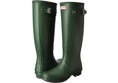 Woot: Hunter Women's Original Tall Rain Boot - Hunter Green Just $54.99 At (Reg.$150.00)