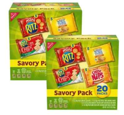 Amazon: 2 Box Nabisco Savory Cracker Variety Pack for $10.96 (Reg. Price $13.96) after coupon!