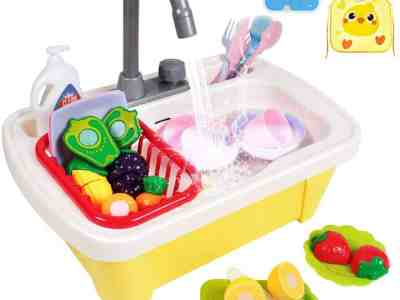 Amazon: 29 Pcs Color Changing Play Kitchen Sink Toys for $17.83 (Reg.Price $25.99)