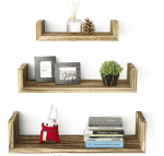 Amazon: 3-Pack Floating Shelves - Price Drop + Coupon