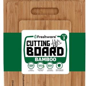 Walmart: 3 Piece Bamboo Cutting Boards Only $13.99 (Reg. $29.99)
