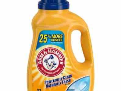 Amazon: Arm & Hammer Clean Burst Liquid Laundry Detergent for $2.87