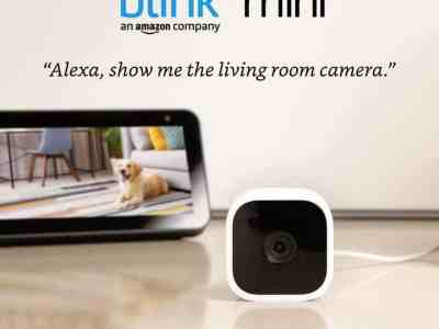 Amazon: Blink Mini – Compact Indoor Plug-in Smart Security Camera $24.99