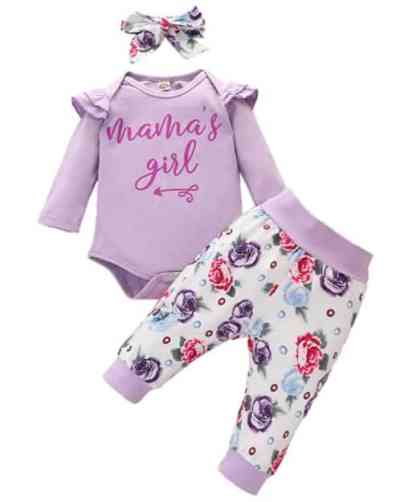 Amazon: Baby Girls Outfits 3 Pieces for $8.99 (Reg. Price $14.99) at checkout!