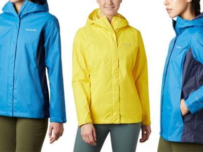 Columbia: Women's Arcadia Rain Jacket for ONLY $29.98 (Reg $90)