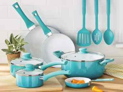 Walmart: Mainstays Ceramic Nonstick 12 Piece Cookware Set $39.97 (Reg $49.97)