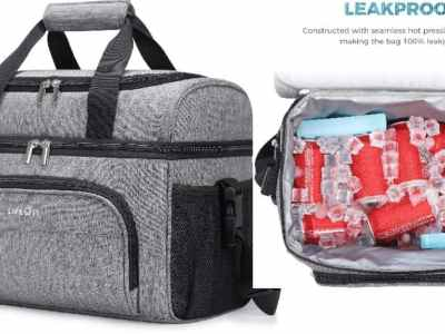 Amazon: Lifewit Bag 32-Can Insulated Leakproof Soft Cooler $15 ($50)