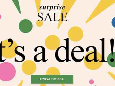 Kate Spade: Surprise SALE Up to 75% Off