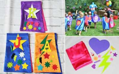 Jane: Superhero Cape Decorating Kit JUST $11.99 (Regularly $24.50) – Many Colors Available!