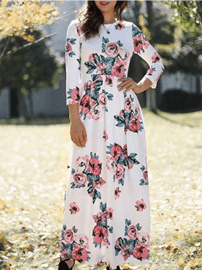 Amazon: Foshow Maxi Dresses with Pockets for Just $11.76