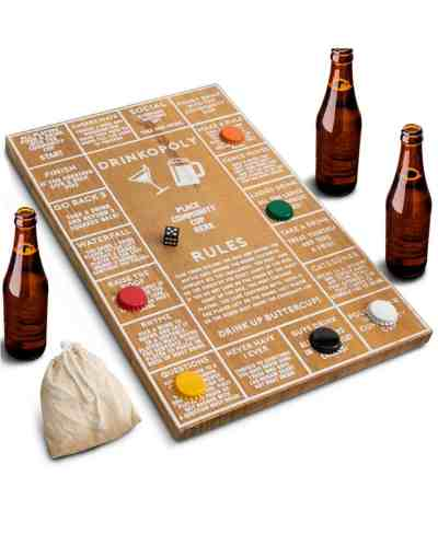Macy's: Hammer + Axe Game Wood Drinkopoly Board $11.99 (30)