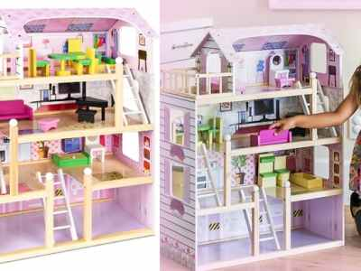 BCP: Wooden Dollhouse for JUST $69.99 Shipped (Reg $100)